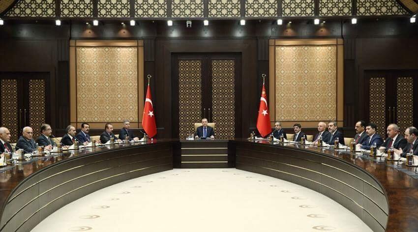 Irak Türkmen Heyeti Cumhurbaşkanlığı Külliyesinde
