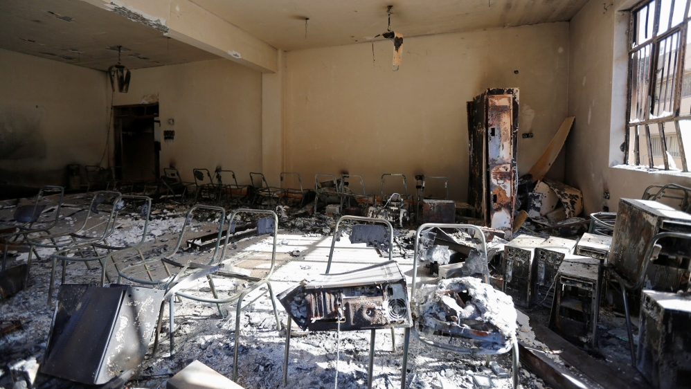 (English) Mosul University after ISIS: Damaged but defiant