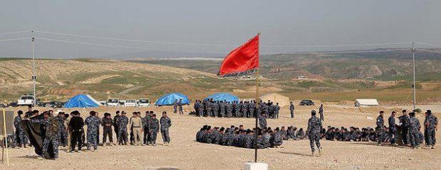 Türkiye'nin Eğittiği Ninova Muhafızları Haşdi Şabi'ye Katıldı