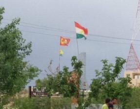 Iraq: Terrorist PKK raises Öcalan flag in Turkmen city Kirkuk
