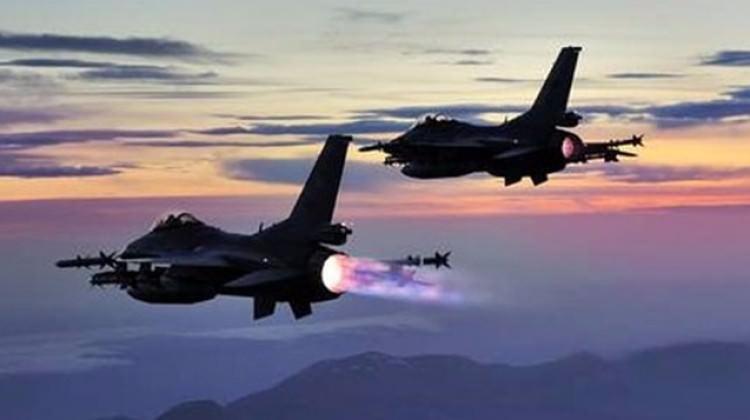 Son Dakika:Kahraman TSK'dan Kuzey Irak'a Hava Harekatı