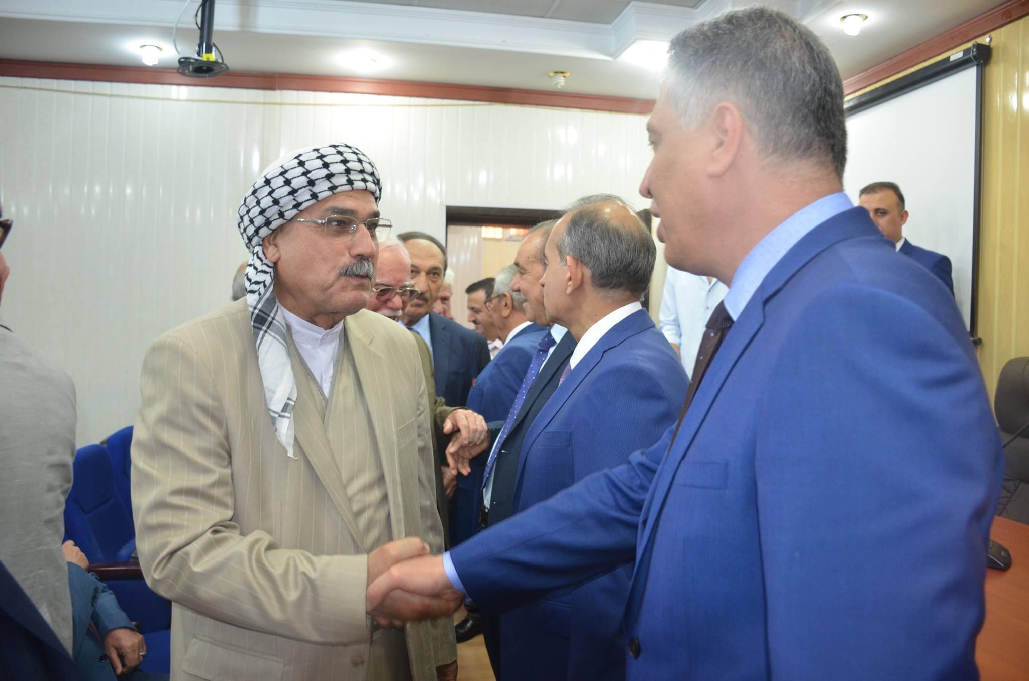 Türkmenler ITC'de Lider Salihi ile Bayramlaştı