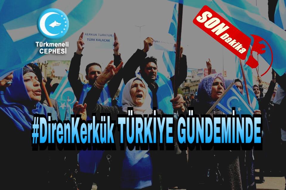 #DirenKerkük Türkiye'nin Gündemi Oldu
