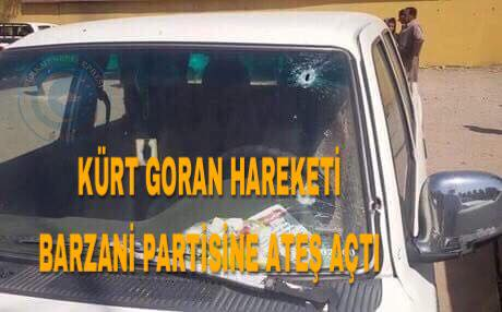 Barzani Partisi'ne Süleymaniye'de Silahlı Saldırı Yapıldı