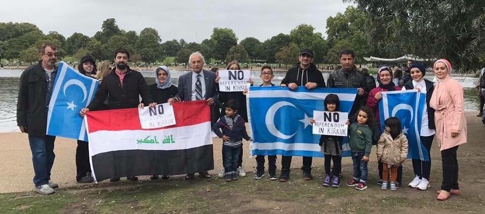 التركمان في لندن يرفضون اجراء الاستفتاء في كركوك