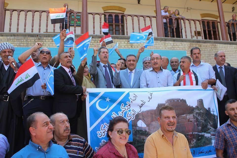 BAĞDAT'ta TÜRKMEN DİRENİŞİ YAPILDI,Referanduma Hayır