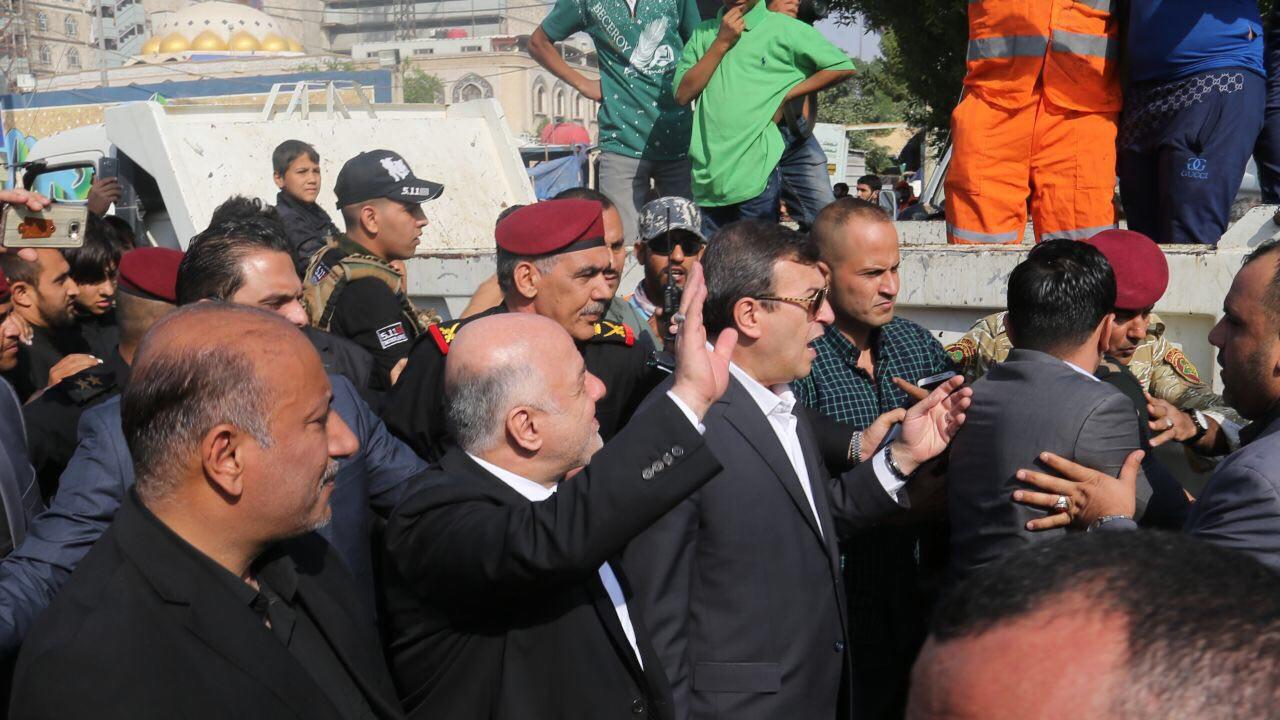 Başbakan İbadi Kerbela'da