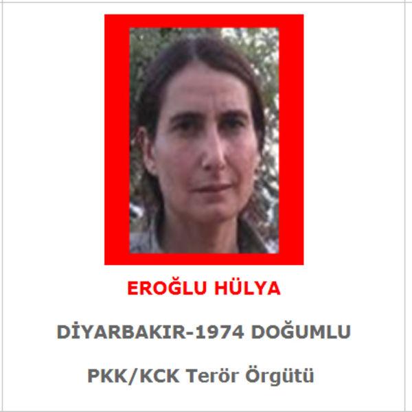 İçişleri Bakanlığı: İsmi Kırmızı Listede Bulunan PKK'lı Terörist Eroğlu Öldürüldü