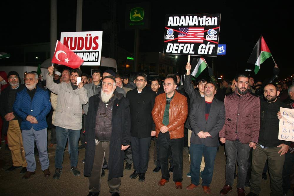 Türkiye Kudüs İçin Sokaklarda