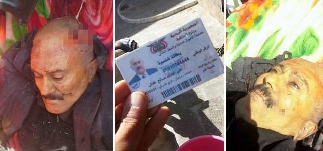 Yemen'in Eski Cumhurbaşkanı Salih Öldürüldü