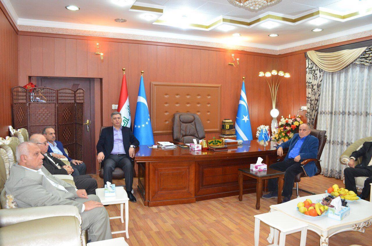 Türkmen Partileri Kerkük ITC Merkezinde Toplandı