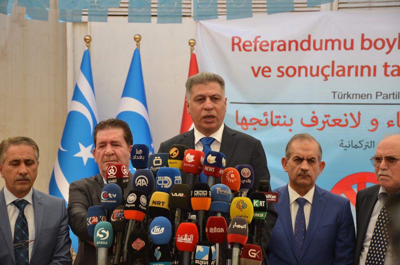 Türkmen Partileri Kerkük'te Tek Liste Halinde Seçimlere Katılıyor