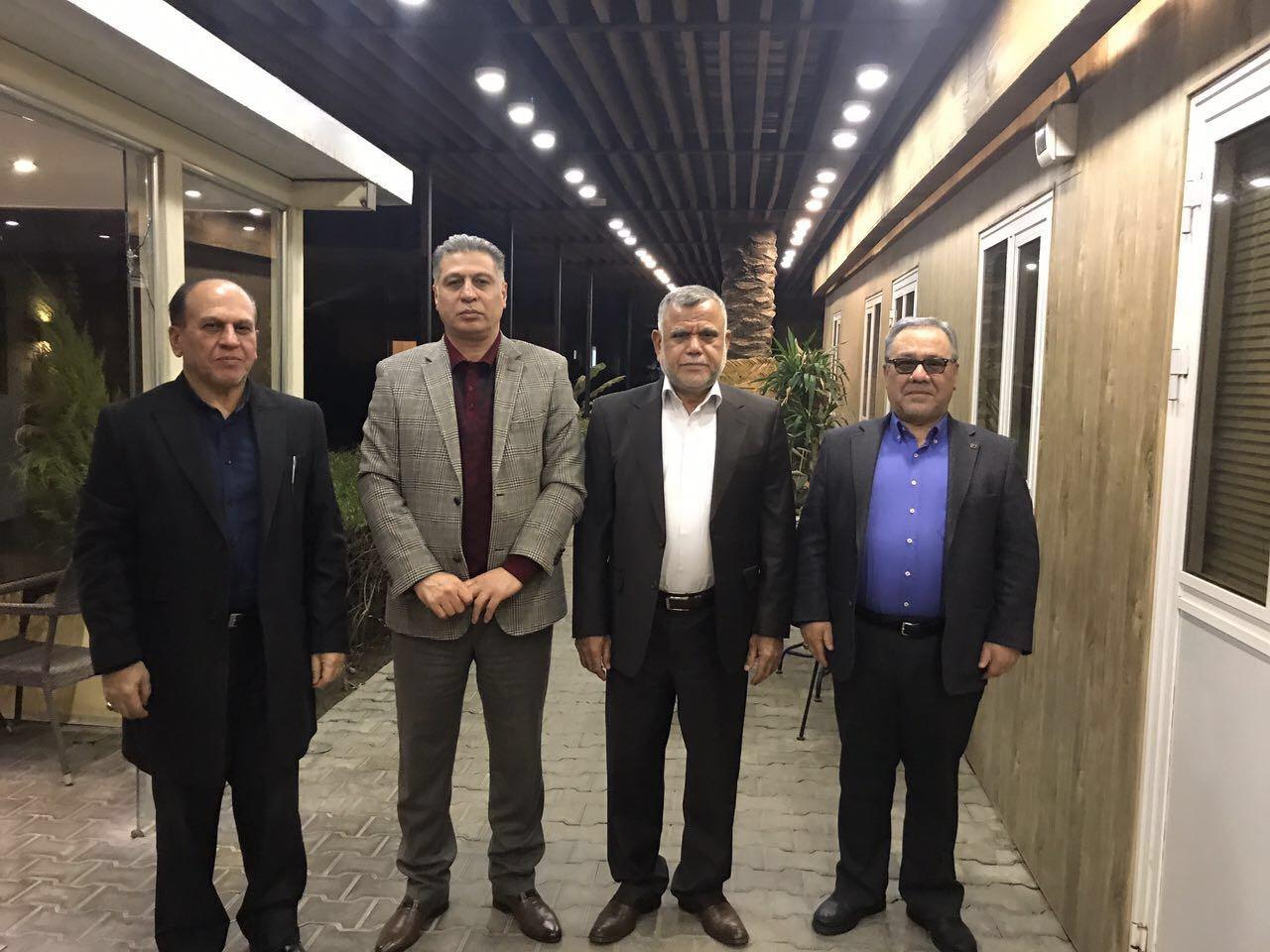 الصالحي والعامري يبحثان خارطة طريق الانتخابات النيابية