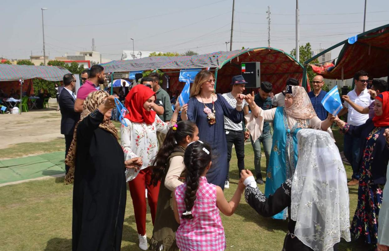 Türkmenler Türkiye Büyükelçiliği ile Bağdat'ta Nevruzu Coşkuyla Kutlandı.
