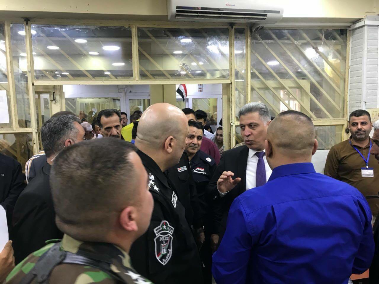 Türkmen Lider Salihi Kerkük Vatandaşlık Dairesini Ziyaret Etti