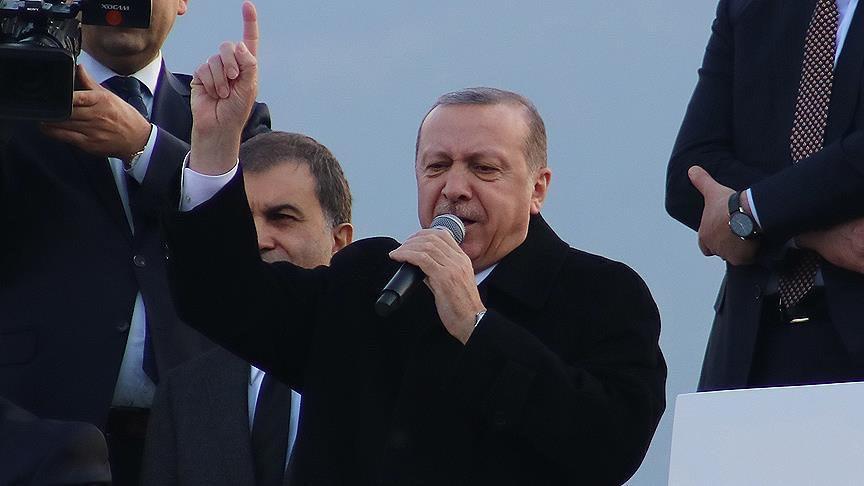 Cumhurbaşkanı Erdoğan: 'Afrin'e Giriyoruz'
