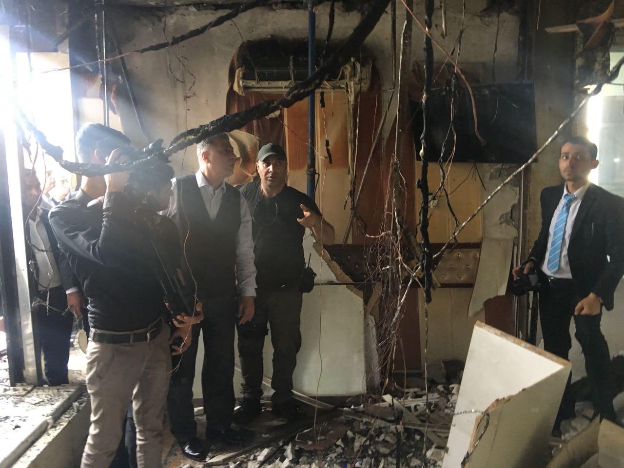 Lider Salihi Bomba Patlatılan Kuyumcular Çarşını Ziyaret Etti