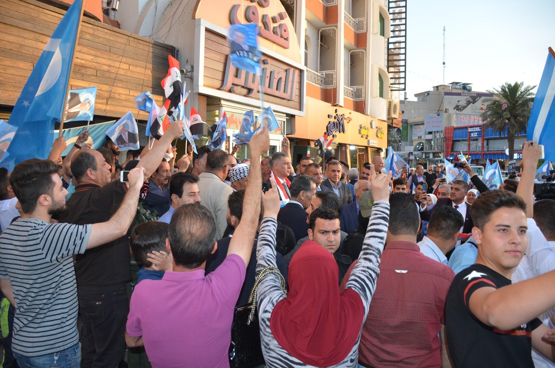 Lider Salihi Seçim Kampanyasını Başlattı