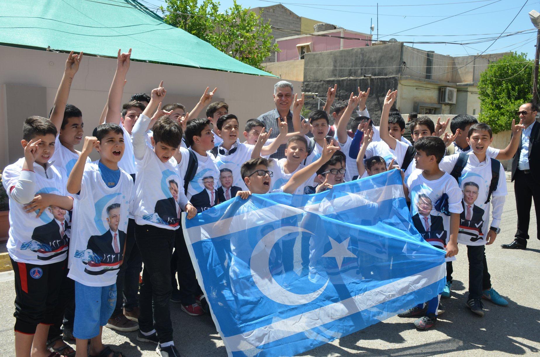 Lider Salihi Türkmen Barış Okulu Öğrencileri İle Biraraya Geldi