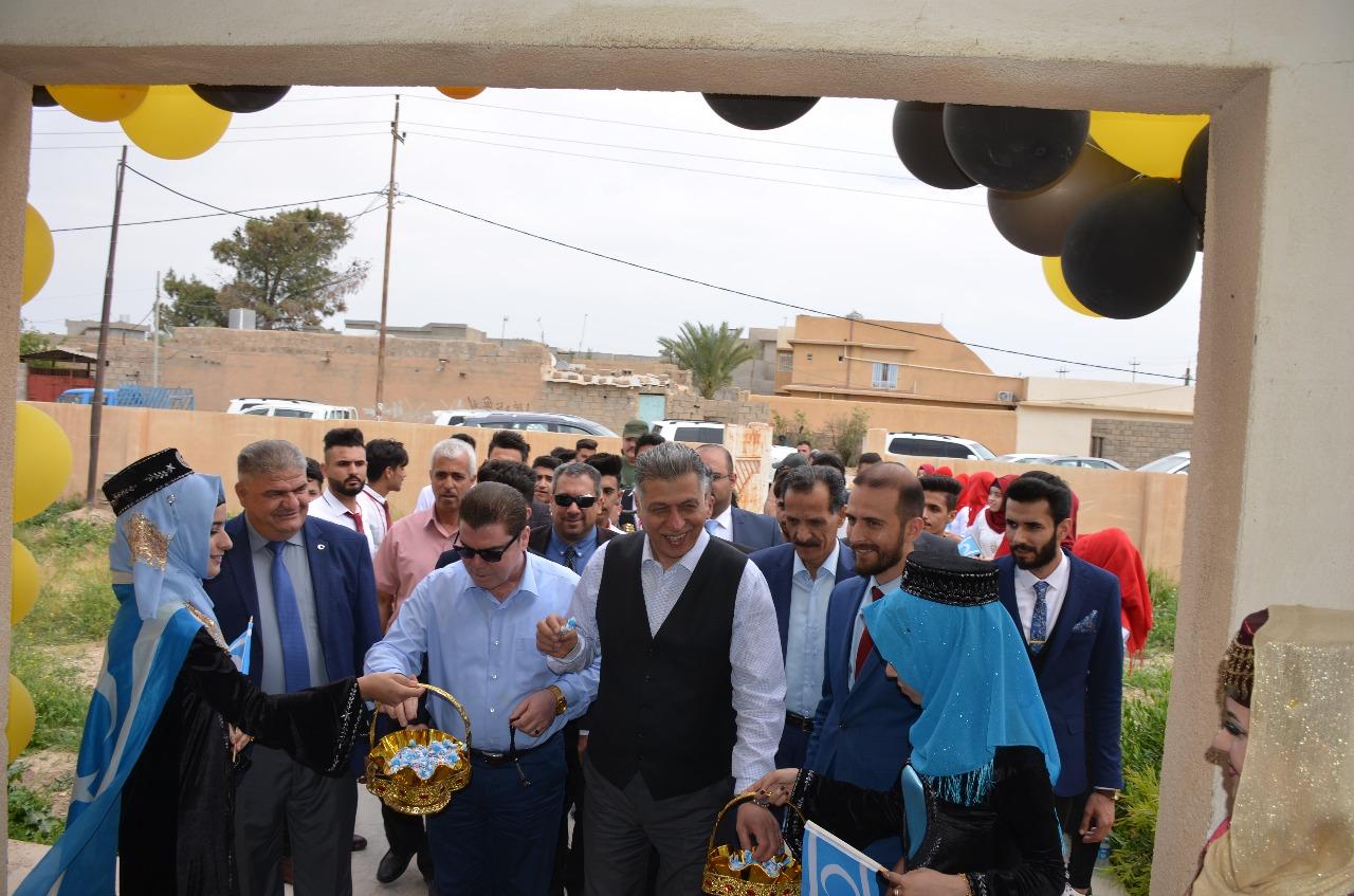 Türkmen Lider Salihi Kerkük Yahyava Köyünü Ziyaret Etti