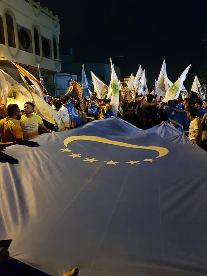 Son Dakika Türkmenler Oy Çalan Kerkük Seçim Komiserlik Binasını Bastı