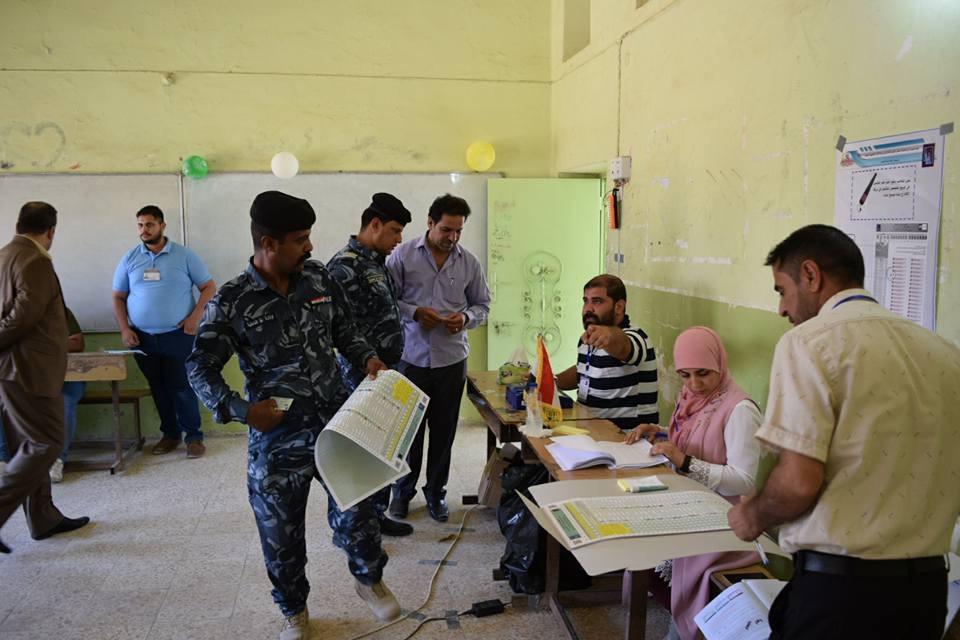 Irak'ta Erken Oylama Başladı