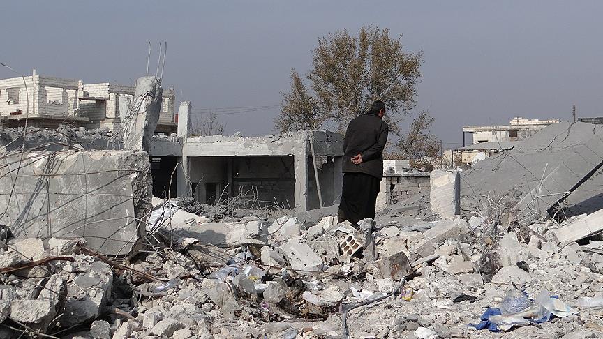 ABD Koalisyonu Suriye'de Sivilleri Vurdu: 25 Ölü!
