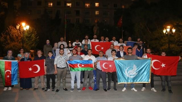 Erdoğan'ın Seçim Başarısı Azerbaycan'da Kutlandı