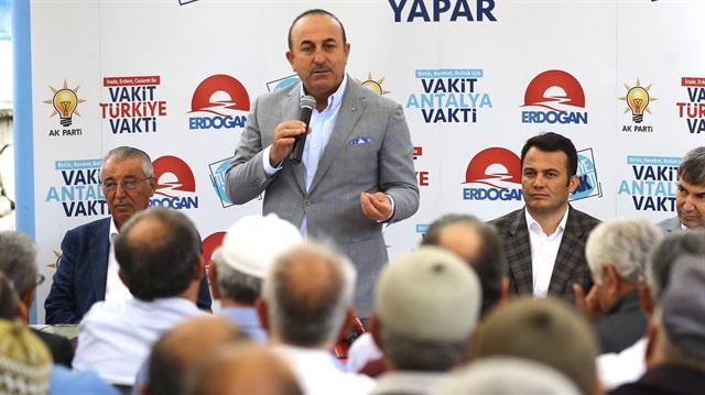 Bakan Çavuşoğlu: Kandil'i Dümdüz Edeceğiz
