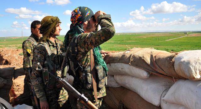 YPG'den Türkiye'ye Küstah Tehdit: Türk Askeri Menbiç'e Girerse Karşılık Veririz