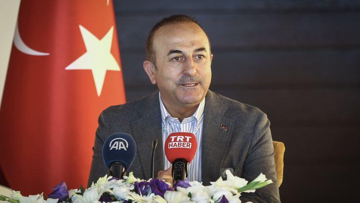 Bakan Çavuşoğlu: Terörist YPG Münbiç'ten Silahsız Çekilecek