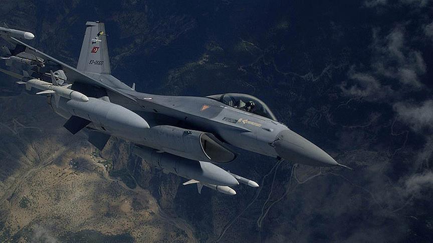 Kahraman TSK Irak Kuzeyi Zap-Hakurk Bölgesini Bombaladı