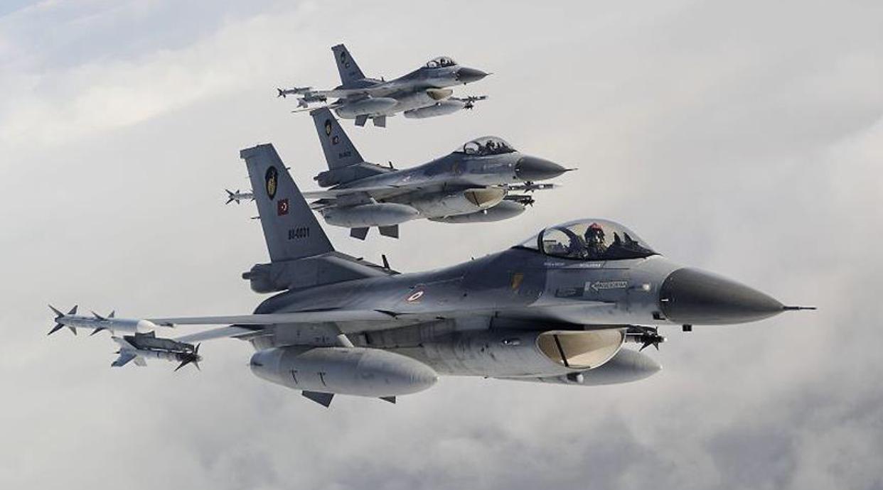 Irak'ın Kuzeyinde 28 Hedef İmha Edildi