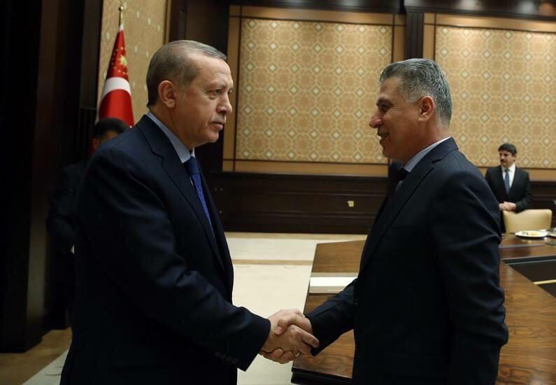 Son Dakika Lider Salihi Cumhurbaşkanı Erdoğan'ın Daveti Üzerine Ankara'da