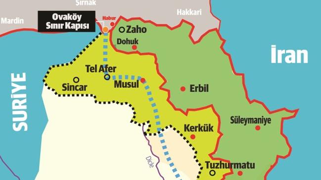 Türkiye Kararlı! Irak'a OVAKÖY Sınır Kapısı Açılıyor