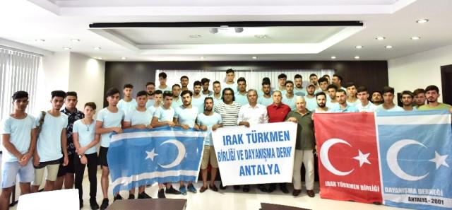 Muratpaşa Belediye Başkanı Türkmeneli Öğrencilerini Ağırladı