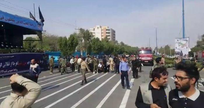 İran'da Askeri Törene Silahlı Saldırı! Ölü ve Yaralılar Var