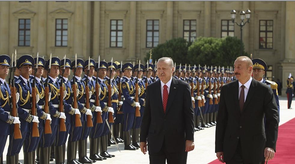 Türkiye Cumhurbaşkanı Erdoğan Azerbaycan'da