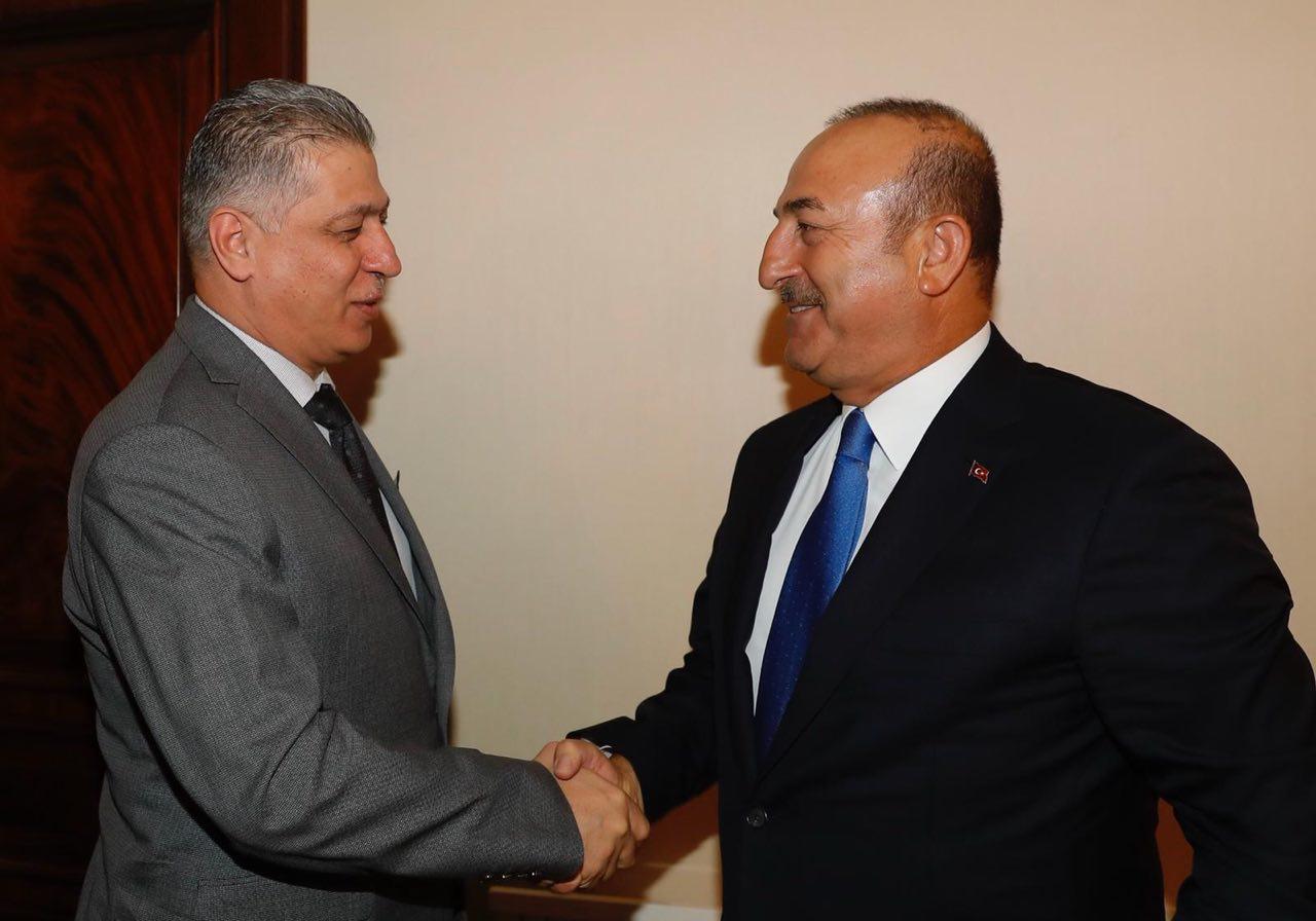 Lider Salihi Türkiye Dışişleri Bakanı Çavuşoğlu İle Biraraya Geldi