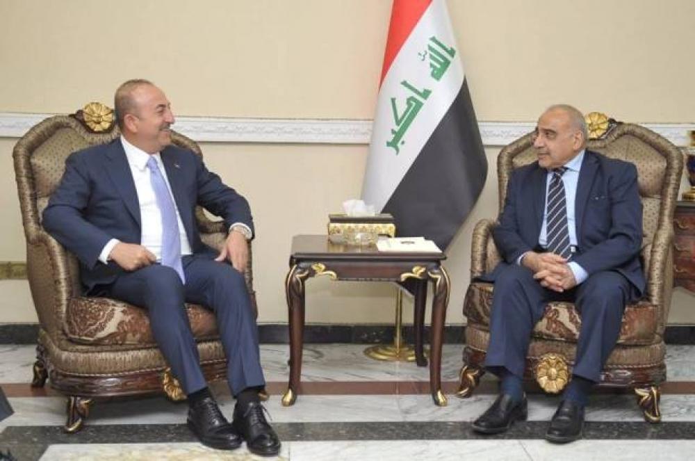 Bakan Çavuşoğlu Bağdat'ta Adil Abdülmehdi İle Görüşüyor