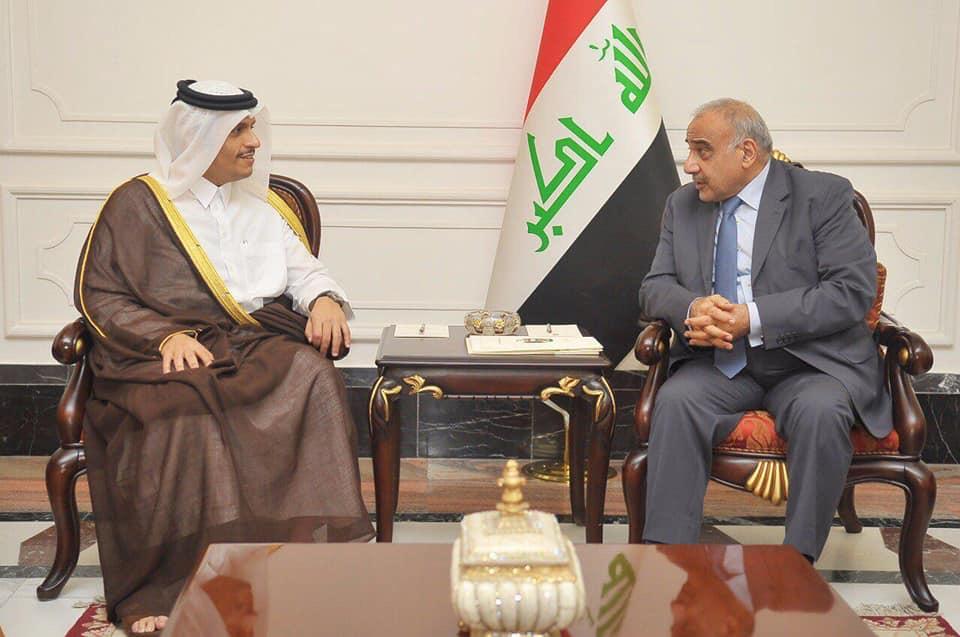 Yeni Hükümet Sonrası Irak'a Körfez'den İlk Ziyaret Katar'dan