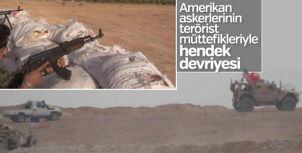 ABD ile PKK'nın Kol Kola Hendek Devriyesi
