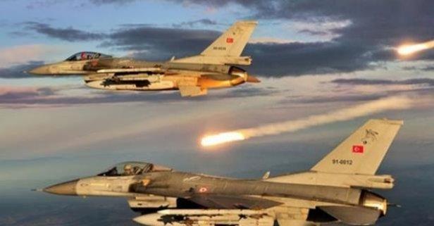 Son Dakika! Kahraman TSK Irak Kuzeyini Bombaladı: 5 Terörist Cehenneme Postalandı