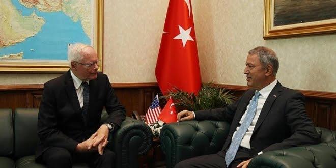 Milli Savunma Bakanı Akar'dan Jeffrey'e: Gözlem Noktalarından Vazgeçin!