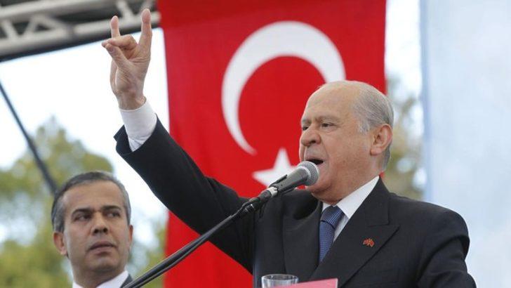 MHP Lideri Bahçeli: Fırat'ın Doğusuna Kuvvetle Girilmeli, Yer Gök Titremelidir