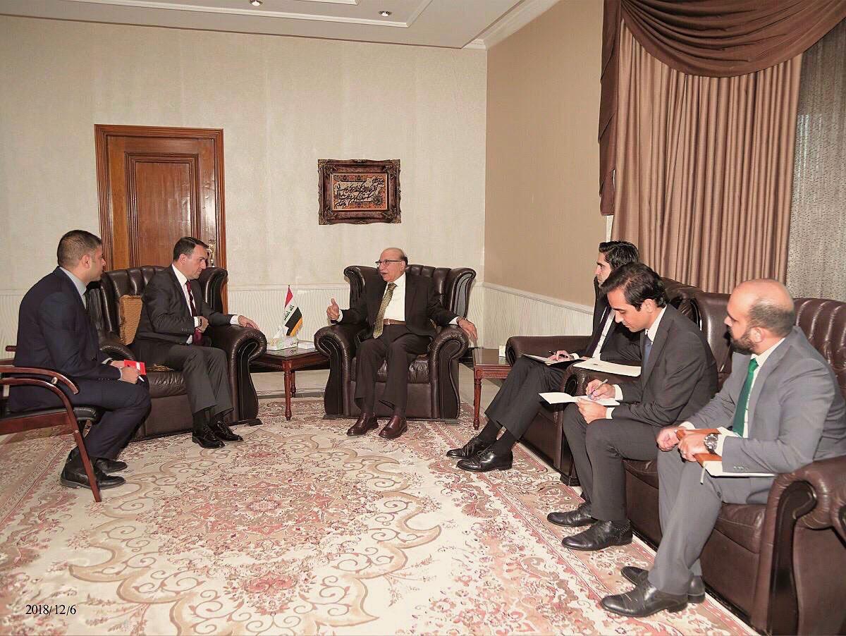 Büyükelçi Yıldız, Irak Federal Yüksek Mahkemesi Başkanı İle Biraraya Geldi