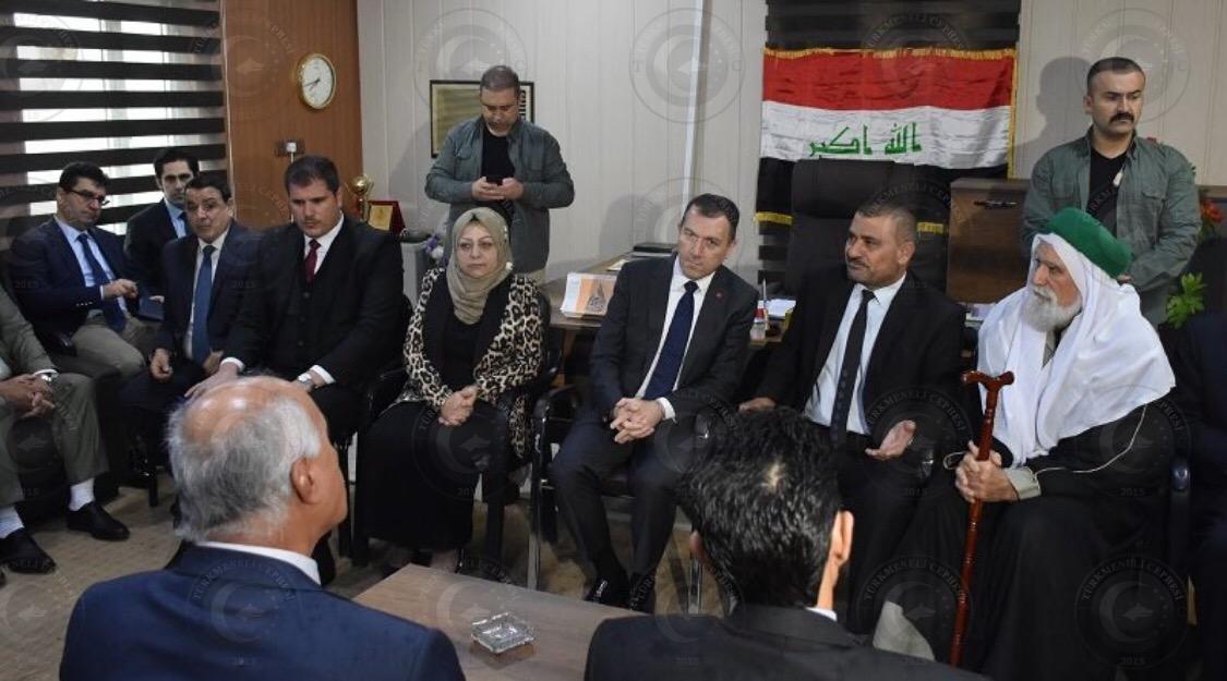 Büyükelçi Yıldız: Türkiye, Kerkük'te Vize Başvuru Merkezi Açacak