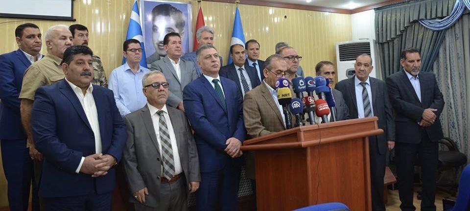 التنسيقية التركمانية تطالب عبد المهدي بالتدخل لإيقاف مروجي الفتن في كركوك
