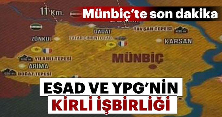 Suriye Rejimi: 400 YPG'li Terörist Münbiç'ten Çekildi