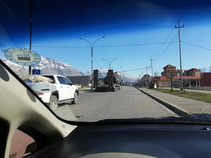 تعزيزات عسكرية تركية الى شمال العراق